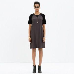 Madewell Colorblock t-shirt dress